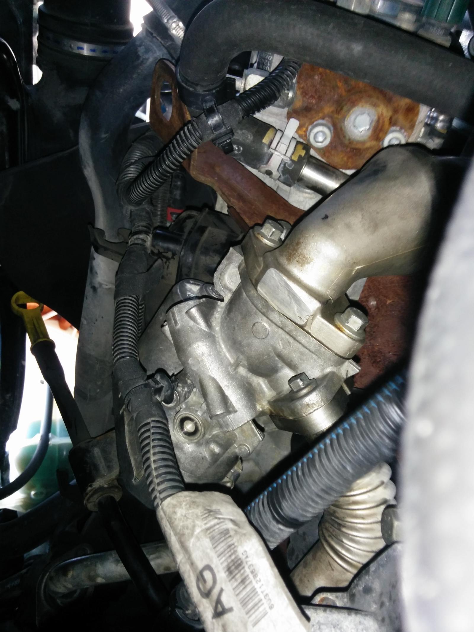 Vanne EGR Citroen Jumper Fiat Ducato Peugeot Boxer